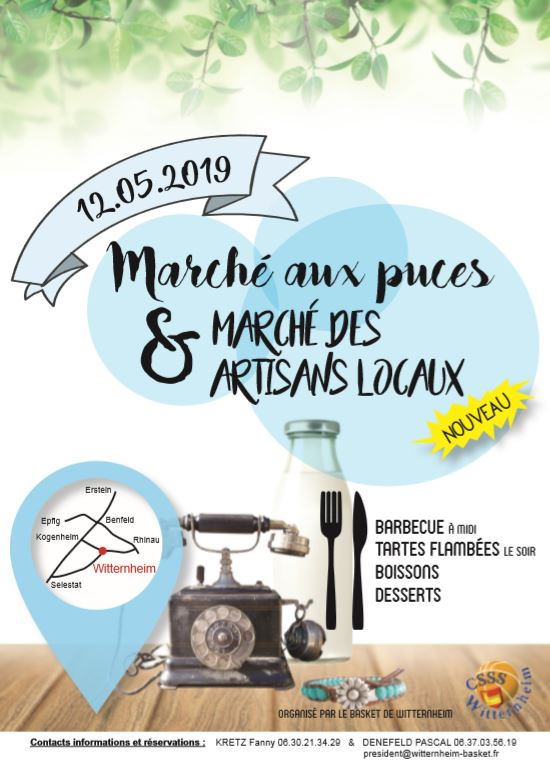 Flyer march aux puces 2019 A 5